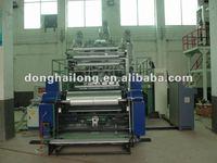 A/B/C Three Layer PE Stretch Film Making Machine