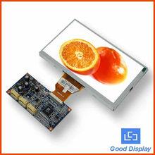 "screen digital 7"" tft screen with lcd vga panel"
