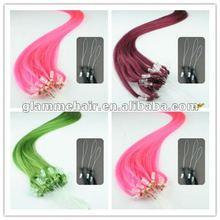 yaki straight brazilian micro loop ring hair extension
