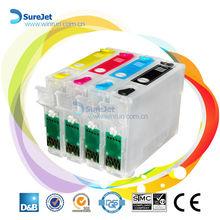 NX230 refillable ink cartridge for Epson printer(NX125 NX127 NX420 NX130 NX230 Workforce 320 323 325)