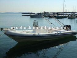 Fashionable rigid inflatable boat