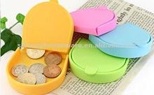 Personalized Custom Silicone Rubber Coin Wallet Pochi Purse