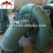 Turbine hydraulic / 500KW turbine