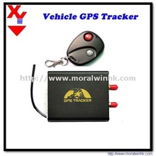 GPRS On-line And GPRS Re-connected Automatically GPS Tracker With Fuel Sensor