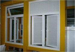 aluminum louver window frames