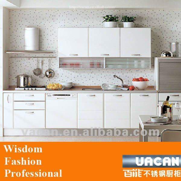 Offer small size modular single kitchen cabinets with high gloss