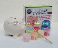 coin holder ceramic piggy bank coin bank