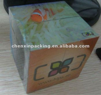 promotional children's plastic cube puzzle
