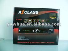 2012 az class s1000 decodificador azfox s2s full hd 1080p for chile