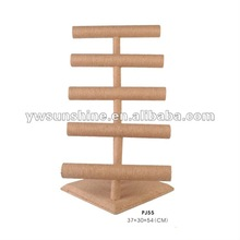 Sunshine High Quality Wooden Jewelry Bracelet Display Stand