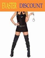 2012 latest design factory price women sexy cop costume