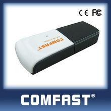 Wholesale 150Mpbs Mini USB Wireless Adapter Internet Wlan Network Card Comfast CF-WU720N