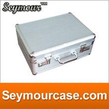 With combination locks Money saving storage bag aluminum money box