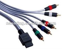 Black Male VGA to Male RCA cable