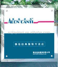 popular promotion acrylic authorization brand