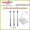 Panvotech dm-30 micrófono cuello de cisne de stands