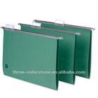 Classic Foolscap Size Paper Suspension File Folder, 20/box, Green