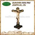 Resina religiosos cruz, crucifixo para o natal