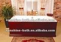Baratos de esmalte bañera de hierro fundido, cuarto de baño bañera, profundo esmalte bañera de baño sw-1011