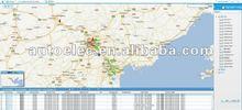 pc based gps server software for fleet management