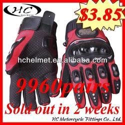 HC Glove 200cc racing motorcycle