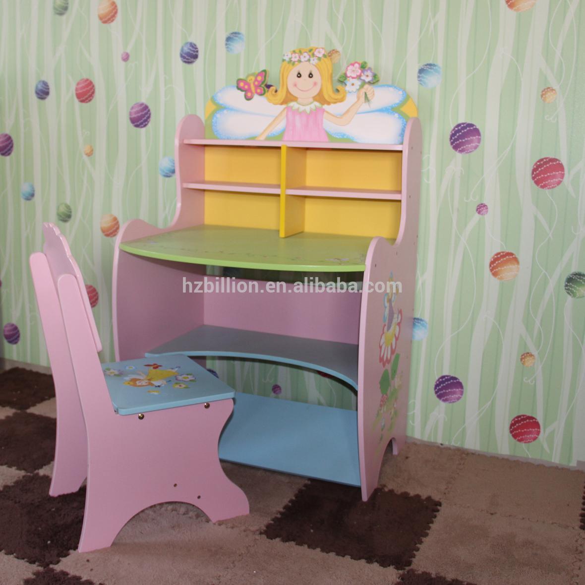 3 12 a os de madera mesa de estudio los ni os con silla - Mesas de estudio para ninos ...