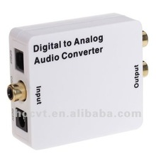 Supreme Digital Optical Coax Coaxial to Analog RCA Audio Converter