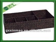storage Seagrass baskets tray