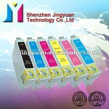 for Epson ink cartridge T0801/0802/0803/0804/0805/0806 Stylus Photo R265/R285/R360/RX560/RX585/RX685/PX700W /PX800FW