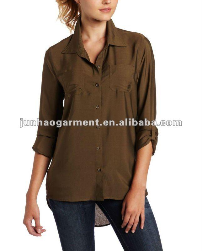 Fashion Design Blouse Women Shirt Model