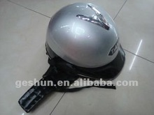 2012 new fashion silver Open face helmets