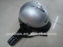 2012 new fashion silver Open face helmets