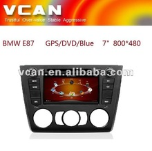 in dash special car dvd player for BMW E87 with gps Bluetooth ipod RDS TMC//VCAN0370-4