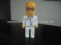 2GB plastic doctor usb key