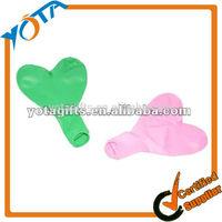 Heart shaped latex balloons