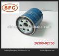 De calidad superior de aceite de filtro automático para hyundai 26300-02750