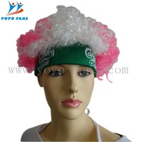 football wig with bang with EN71 certificate