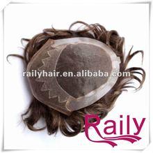 Strong knotting,no shedding,fine mono hair units