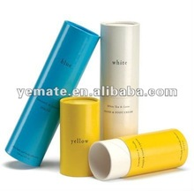 Colorful printed round Cardboard gift packaging cigarette paper tube, firework paper tubes box,paper lipstick tube box