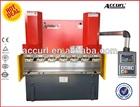 WC67Y-40T/2200 Hydraulic Plate Sheet Metal Manual Folding Machine for Sale