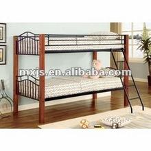 Adult Steel frame bunk bed for hotel furniture