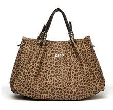 Newly leopard PU leather big bag handbag