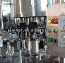 automatic wine glass bottle aluminum cap screw machine