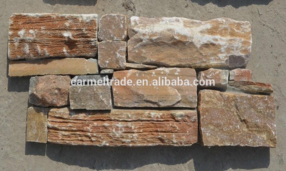Exterior de cultivo natural de panel de pared de piedra - Panel de piedra natural ...