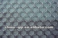 100% polyester laundry dyed sandwich mesh