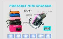 Great hot sale MINI Portable FM radio Speaker,tf Card Fm Radio