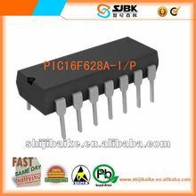 (100%New&Original IC MCU FLASH 2KX14 EEPROM 18DIP)PIC16F628A-I/P