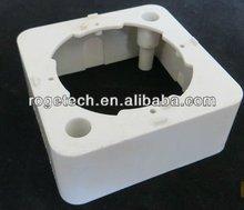 Nuevo diseño de tv/fm/sat de televisión por cable de enchufe de pared/toma de pared accesorios ( base de plástico )