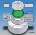 puxin 6m3 tamaño de la familia biorreactor anaeróbico