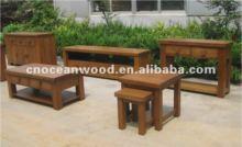 Barcelona Range Solid Oak Wooden Dinner Set, oak furniture manufacturer
